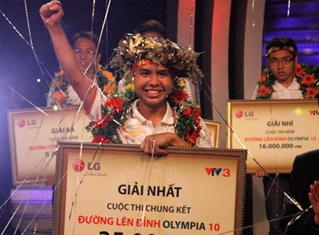 Cho tới thời điểm này, Phan Minh Đức là học sinh trường Ams đầu tiên và duy nhất giành được chiến thắng ở trận chung kết Đường lên đỉnh Olympia (năm thứ 10)