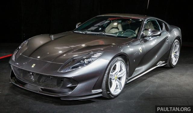 Siêu xe Ferrari 812 Superfast chính thức trình làng tại Đông Nam Á với giá chưa thuế 8,38 tỷ Đồng - Ảnh 1.