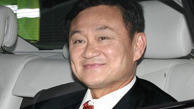 Cựu Thủ tướng Thaksin, anh trai bà Yingluck, đã sống lưu vong ở nước ngoài kể từ khi bị lật đổ trong cuộc đảo chính năm 2006 (Ảnh: PA)
