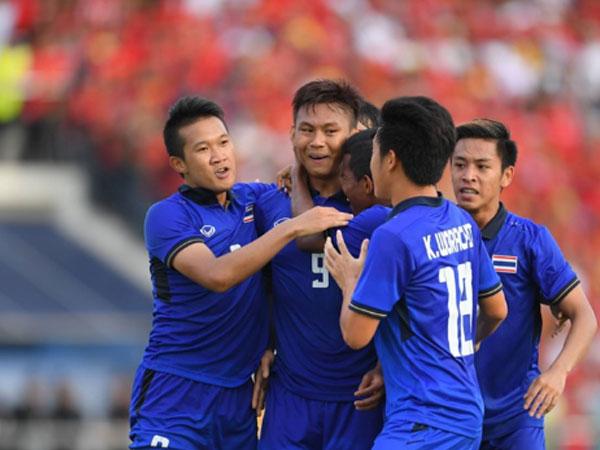 Hạ Myanmar ở phút 90+5, U22 Thái Lan đoạt vé vào chung kết