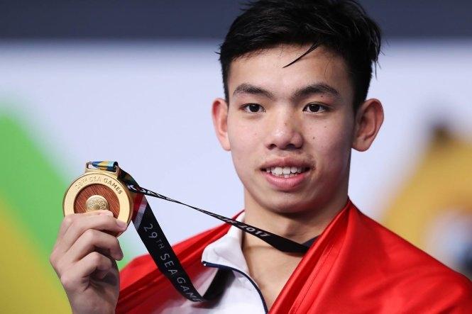Huy Hoàng và Ánh Viên cùng phá kỷ lục SEA Games