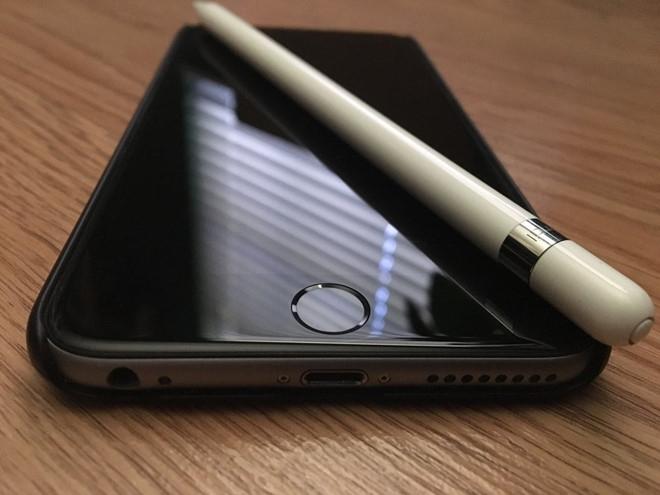 iPhone co the trang bi Apple Pencil nhu Galaxy Note hinh anh 1