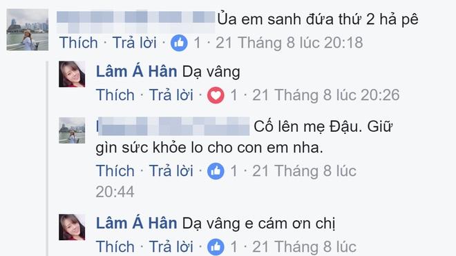 Lâm Á Hân đăng ảnh bầu bí, chia sẻ cảm xúc khi mang thai bé gái ở tuần thứ 34 - Ảnh 4.