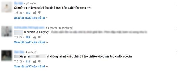 MV Xin đừng lặng im của Soobin Hoàng Sơn bị fan quay lưng, dislike hoàng loạt sau khi ra mắt - Ảnh 3.