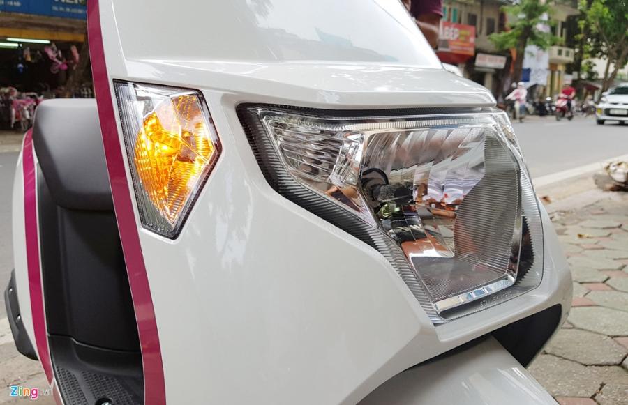 Xe tay ga 50 phan khoi Honda Dunk 2017 dau tien tai Ha Noi hinh anh 6