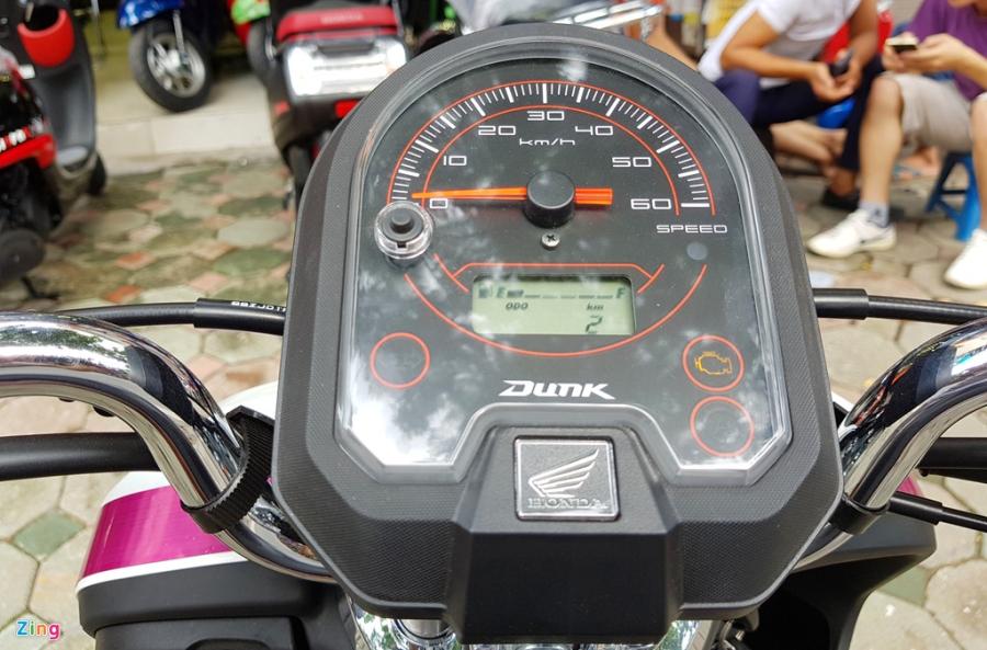 Xe tay ga 50 phan khoi Honda Dunk 2017 dau tien tai Ha Noi hinh anh 9