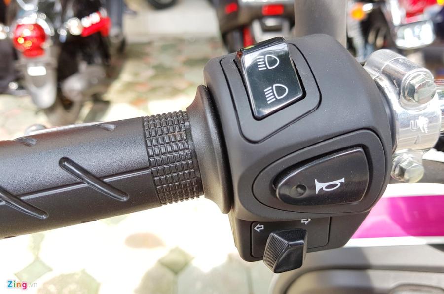 Xe tay ga 50 phan khoi Honda Dunk 2017 dau tien tai Ha Noi hinh anh 10