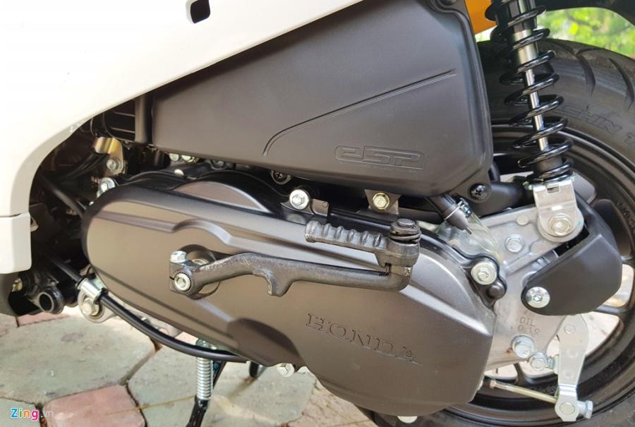 Xe tay ga 50 phan khoi Honda Dunk 2017 dau tien tai Ha Noi hinh anh 14