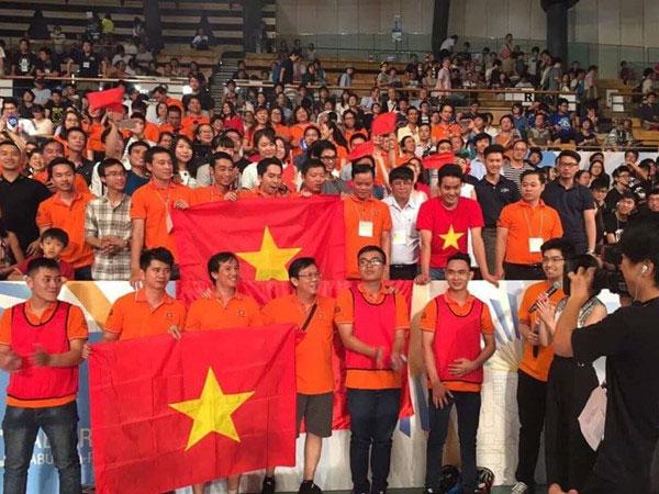 Việt Nam lần thứ sáu vô địch Robocon châu Á - Thái Bình Dương