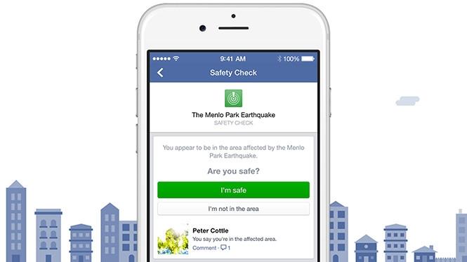 Safety Check đã được triển khai trong một thời gian và thể hiện tốt nhiệm vụ /// Ảnh: Facebook