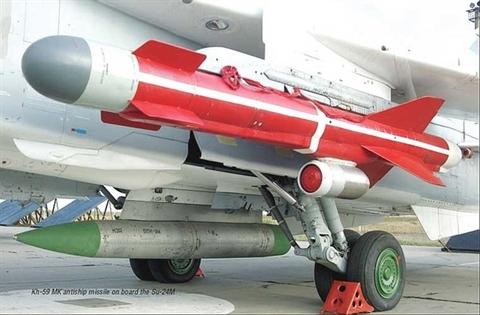 Hai loai ten lua doi ham dang gom cua Su-30MK2 Viet Nam