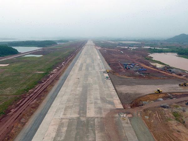 Toàn cảnh dự án sân bay 4.000 tỷ gấp rút về đích ở đặc khu Vân Đồn