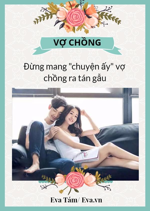 3 dieu ban khong nen noi voi bat cu ai khac ngoai chong - 1