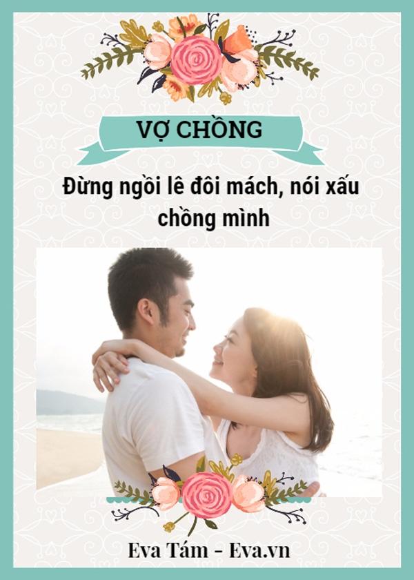 3 dieu ban khong nen noi voi bat cu ai khac ngoai chong - 2