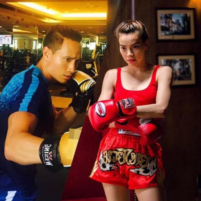 Hồ Ngọc Hà chiều lòng Kim Lý đi xem trận boxing tỷ USD - Ảnh 4.