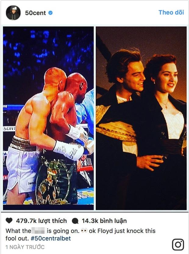 Khoảnh khắc tình cảm của Floyd Mayweather và Conor McGregor khiến nhiều người liên tưởng đến cảnh phim kinh điển của Titanic - Ảnh 7.