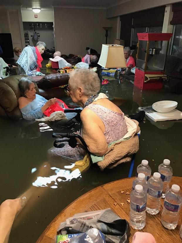Mỹ: Bức ảnh gây sốc trong bão Harvey - Ảnh 1.