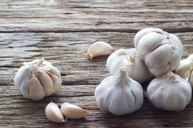 Tỏi có thể khắc phục chứng biếng ăn /// Ảnh: Shutterstock