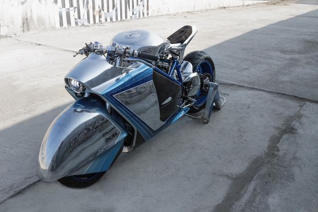 Project XG-848X: Chiếc Ducati bước ra từ phim viễn tưởng - Ảnh 1.
