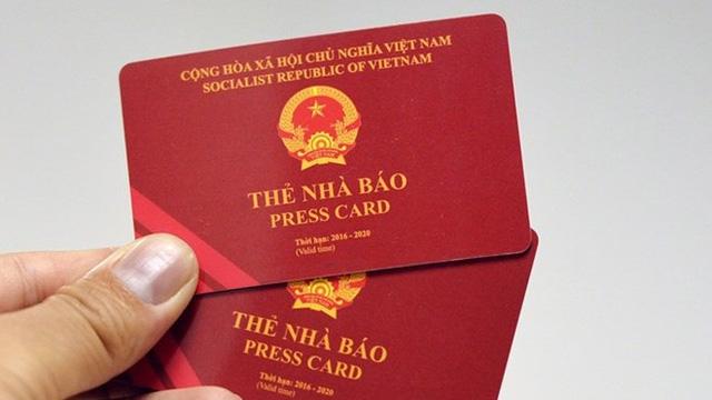 Bộ Thông tin và Truyền thông quyết định thu hồi thẻ nhà báo của phóng viên Đài Tiếng nói Việt Nam