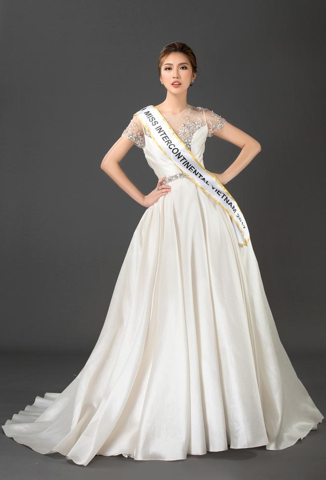 Vừa làm Á quân The Face 2017, Tường Linh đã thi Hoa hậu Liên lục địa  - Ảnh 2.