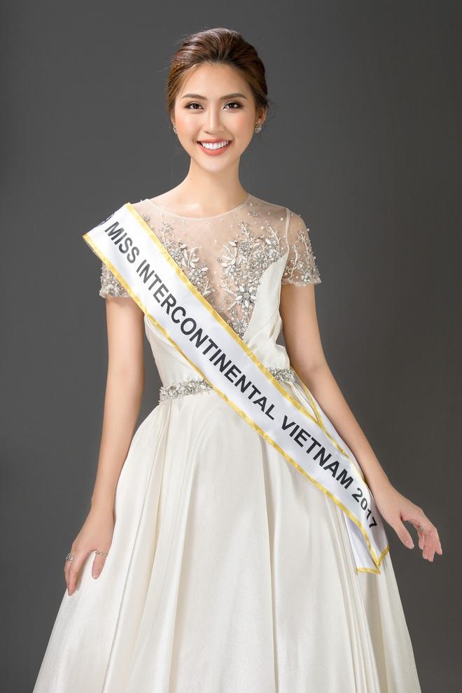Vừa làm Á quân The Face 2017, Tường Linh đã thi Hoa hậu Liên lục địa  - Ảnh 3.
