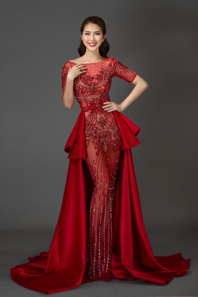 Vừa làm Á quân The Face 2017, Tường Linh đã thi Hoa hậu Liên lục địa  - Ảnh 6.
