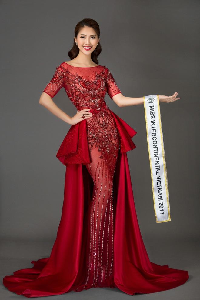 Vừa làm Á quân The Face 2017, Tường Linh đã thi Hoa hậu Liên lục địa  - Ảnh 9.