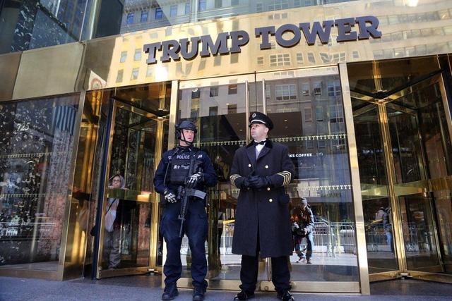 Tháp Trump ở New York, Mỹ (Ảnh: AFP)
