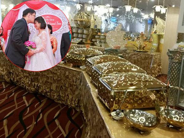 Chủ nhân tiệc cưới 'dát vàng' sang trọng của cô dâu Việt lấy chồng ở Singapore là ai?