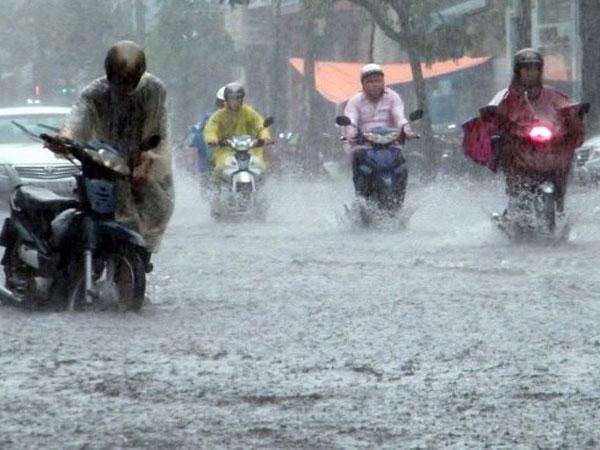 Dự báo thời tiết 30/8: Hà Nội có nơi mưa to kèm dông