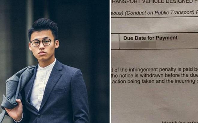 Du học sinh Việt tại Úc bị phạt 4 triệu đồng vì ngủ quên, gác chân lên ghế tàu điện ngầm