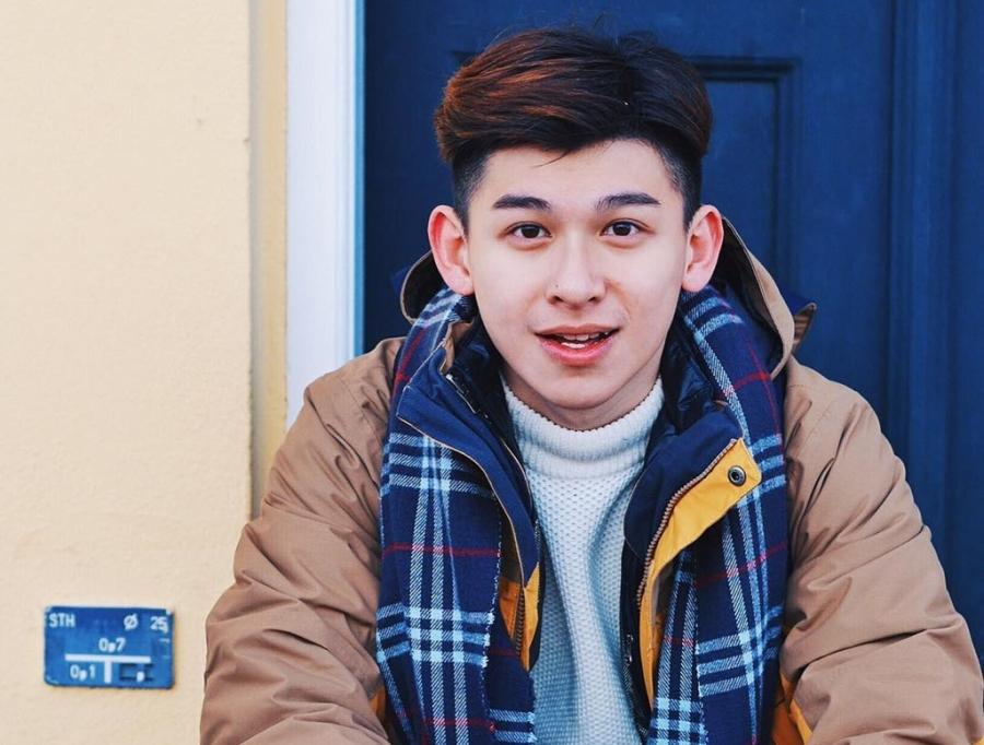 Hot boy Hong Kong dien trai thich du lich vong quanh the gioi hinh anh 1