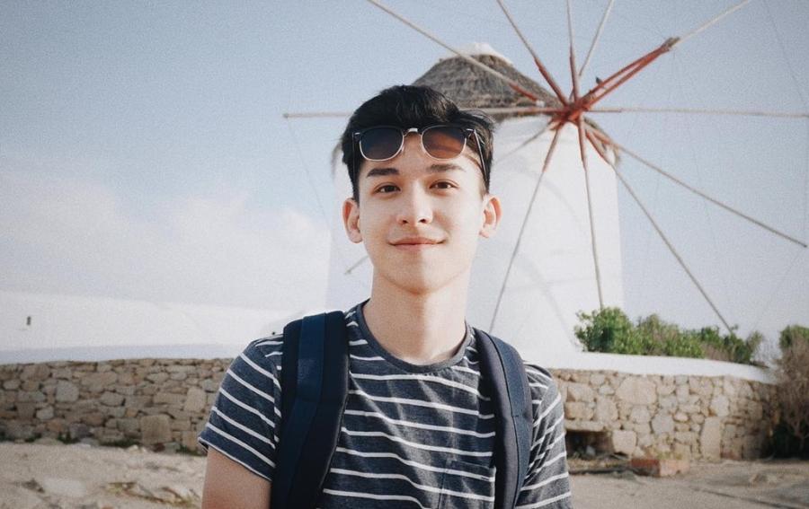 Hot boy Hong Kong dien trai thich du lich vong quanh the gioi hinh anh 6