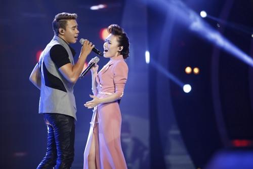 Đông Hùng và Nhật Thuỷ thời thi Vietnam Idol. Ảnh: TL.
