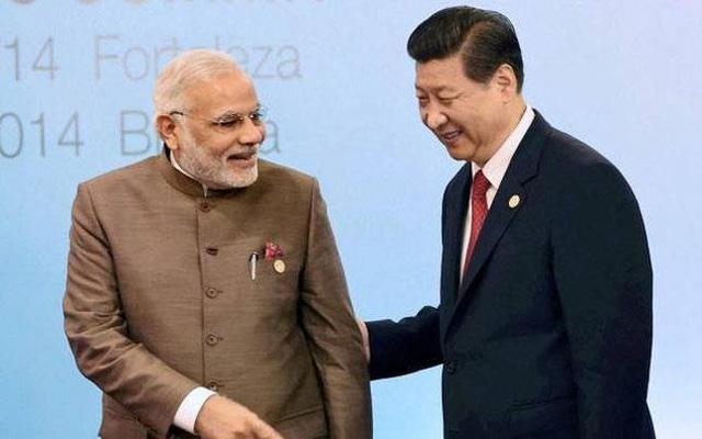 Thủ tướng Nadrenda Modi và Chủ tịch Tập Cận Bình (Ảnh: Intoday)