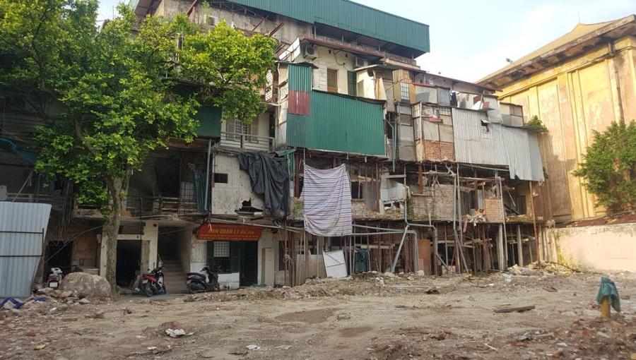 đất vàng, dự án xã hội hóa, cải tạo chung cư cũ, dự án 30A Lý Thường Kiệt, quận Hoàn Kiếm