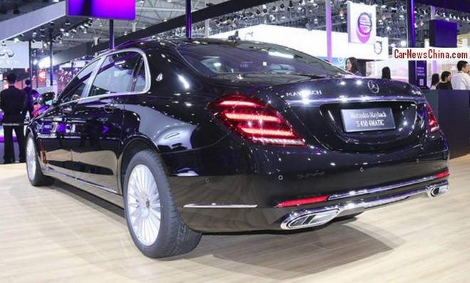 Mercedes-Maybach S450 giá 5,1 tỷ đồng thay thế Maybach S400 - 3
