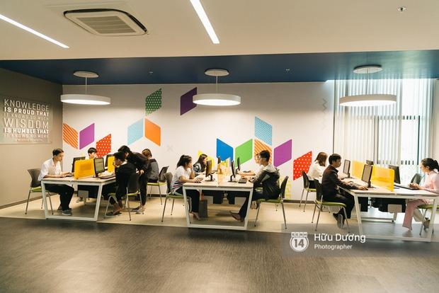 Thư viện sang chảnh 129 tỷ của ĐH Tôn Đức Thắng: Rộng 7 tầng, thoải mái xem phim, chụp ảnh và ngủ lại! - Ảnh 4.