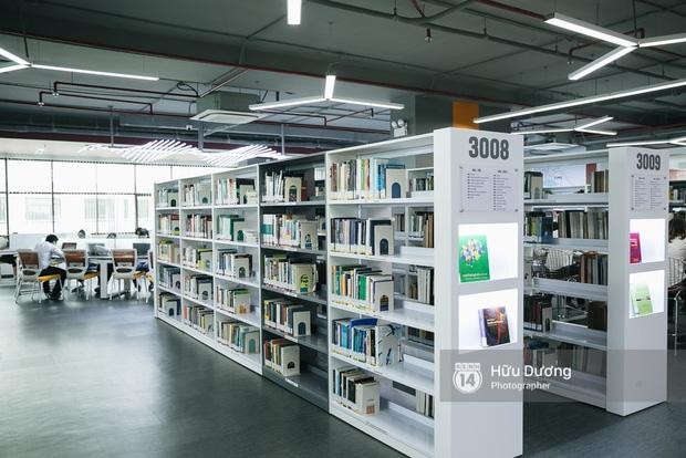 Thư viện sang chảnh 129 tỷ của ĐH Tôn Đức Thắng: Rộng 7 tầng, thoải mái xem phim, chụp ảnh và ngủ lại! - Ảnh 9.