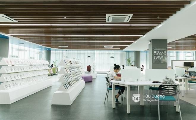 Thư viện sang chảnh 129 tỷ của ĐH Tôn Đức Thắng: Rộng 7 tầng, thoải mái xem phim, chụp ảnh và ngủ lại! - Ảnh 17.