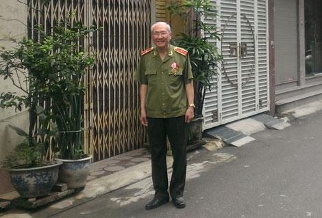 Thiếu tướng Nguyễn Quang Phòng.