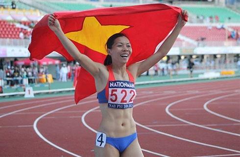 Vũ Thị Hương từng giành 7 HCV tại các kỳ SEA Games