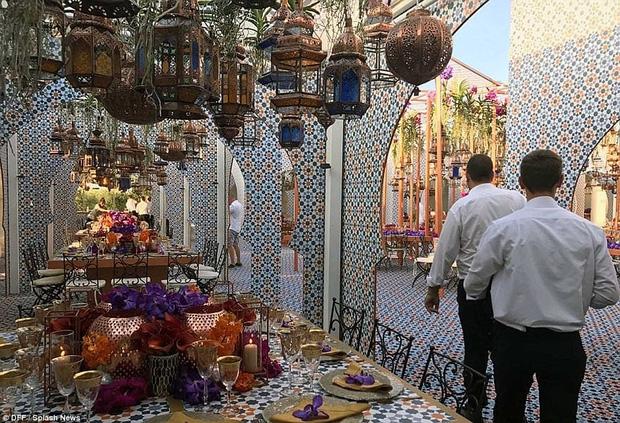 Cận cảnh đám cưới xa hoa ngút trời của con gái ông trùm địa ốc New York có giá 568 tỷ - Ảnh 17.