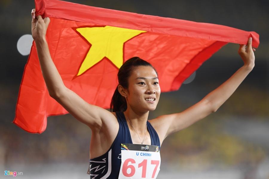 Khoanh khac dep cua nhung co gai vang Viet Nam tai SEA Games 2017 hinh anh 7