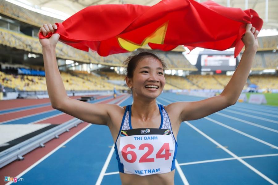 Khoanh khac dep cua nhung co gai vang Viet Nam tai SEA Games 2017 hinh anh 9