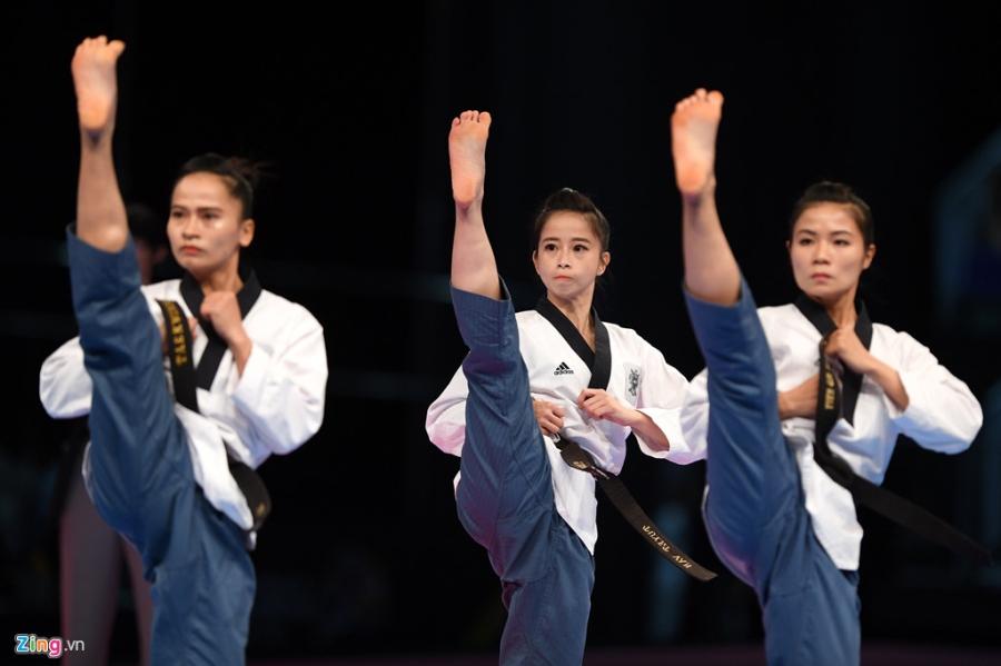 Khoanh khac dep cua nhung co gai vang Viet Nam tai SEA Games 2017 hinh anh 12