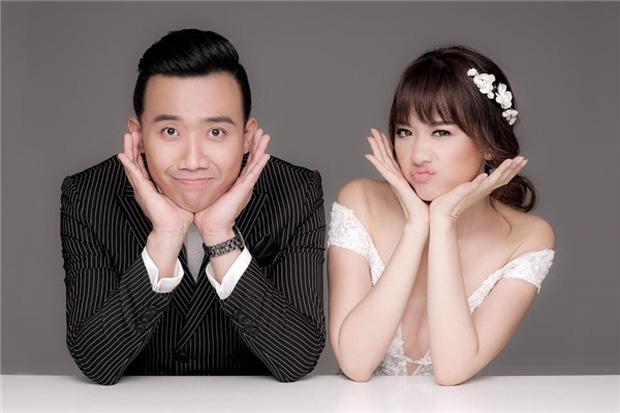 Kỉ niệm 600 ngày yêu nhau, Hari Won hạnh phúc ngả đầu vào vai Trấn Thành - Ảnh 2.