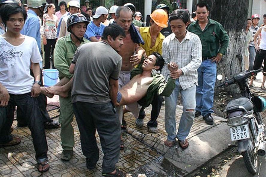 Thiếu kinh nghiệm, lao động trẻ dễ bị tai nạn lao động. Ảnh minh họa: Infornet
