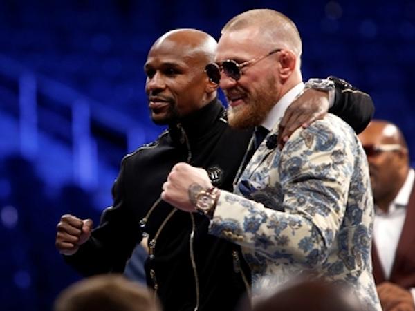 McGregor gợi ý Mayweather chuyển sang đánh MMA